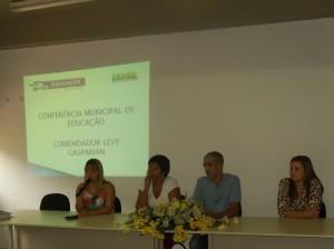 Levy Gasparian realizou sua Conferencia de Educacao