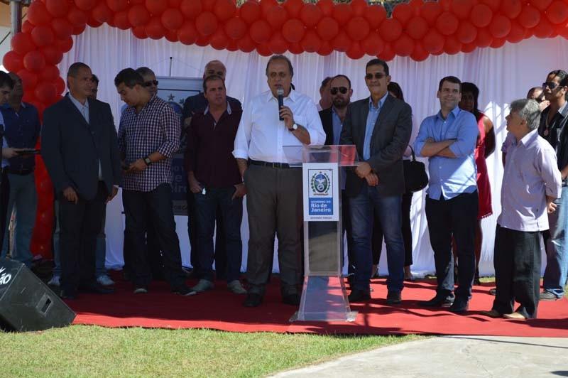 Pezao inaugurou a Ciclovia de Levy Gasparian
