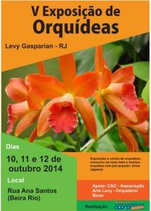 v exposição de orquídea faltando logo