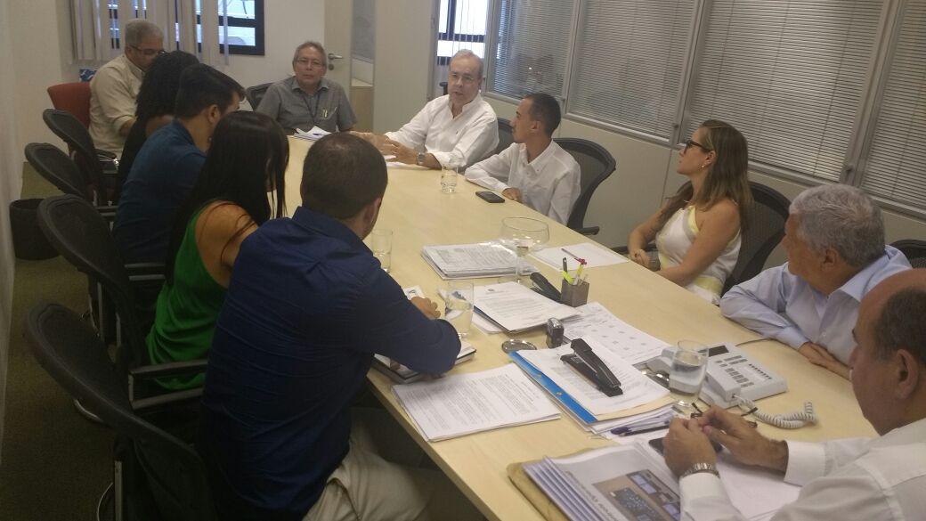 Dr Valter Lavinas se reúne com representantes da Sociedade Civil no DETRO